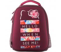 HK19-531M Рюкзак школьный каркасный Kite Education Hello Kitty HK19-531M. Kite