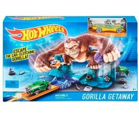 BGH87-4. Трек Побег от гориллы, серии Гонки в городе, Hot Wheels. Mattel