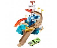 """BGK04. Трек """"Охота на акулу"""" серии """"Измени цвет"""". Hot Wheels. Mattel"""
