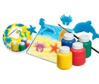54-9039 Набор для творчества с красками, штампами и кисточками, Crayola