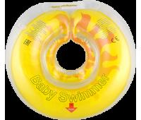 КР101043. Круг на шею ТМ Baby Swimmer СОЛНЫШКО. вес 6 - 36 кг.