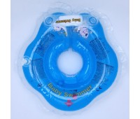 Круг Babyswimmer голубой. вес 3 - 10 кг.