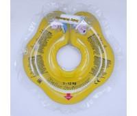 Круг Babyswimmer желтый. вес 3 - 10 кг.
