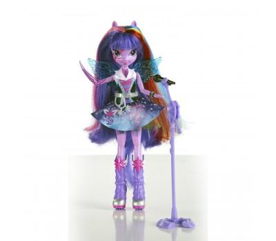 A6683-1. Кукла - Девочки Эквестрии, Рок-звезда, Поющая Твайлайт Спаркл. MLP Equestria Girls