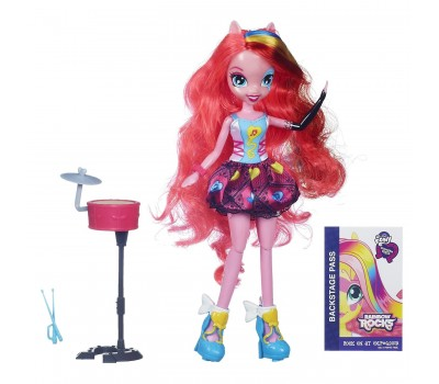 A6683-2. Кукла - Девочки Эквестрии, Рок-звезда, Пинки Пай. MLP Equestria Girls