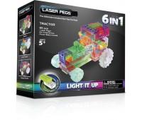 120b. Набор 6 в 1. Трактор. Laser Pegs