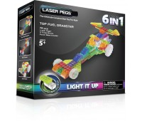 130b. Набор 6 в 1. Гонка Драгстер. Laser Pegs