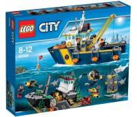 60095. Корабль исследователей морских глубин. Lego City. Lego