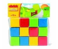 Ecoiffier. Abrick. Развивающие кубики с цифрами. 000404