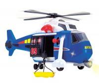 """Dickie. Функциональный вертолёт """"Служба спасения"""" с лебедкой, звуковыми и световыми эффектами. 3308356"""