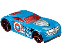DJK75-3. Автомобиль Sir Ominous, серия Captain America, Sir Ominous. Hot Wheels