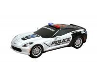 "34595. Полицейская машина Chevy Corvette ""Protect & Serve"" со светом и звуком. Toy State"