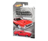 CGB72-2. Автомобиль Джеймса Бонда, Ford Mustang (Бриллианты навсегда) . Hot Wheels