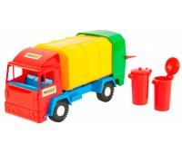39211. Mini truck - игрушечный мусоровоз. Wader