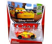 "W1938-15. Герои м/ф ""Тачки 2"" (в ас.) Disney Cars, Мигель Камино (2015 World Gran Prix) . Hot Wheels"