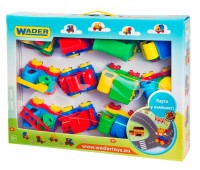 39243. Kid cars - игровой набор с машинками. Wader