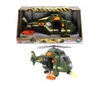 """Dickie. Функциональный военный вертолёт """"Воздушные силы"""" со звуковыми и световыми эффектами. 3308363"""