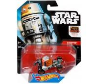 CGW35-8. Машинка-герой Чоппер (Chopper) серии Star Wars. Hot Wheels
