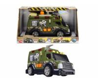 """Dickie. Функциональное военное авто """"Бронированный грузовик"""" со звуковыми, световыми и водными эффектами. 3308364"""
