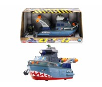 """Dickie. Функциональная военная лодка """"Шторм"""" с субмариной, световыми и звуковыми эффектами. 3308365"""