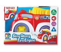K12841u. 2001202 Пожарная, машинка музыкальная. KeenWay