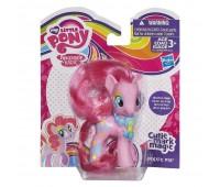 B0384-7. Пони Пинки Пай с украшениями, розовая с воздушными шариками. Play-Doh