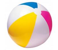59010. Мяч надувной (четырехцветный) 41 см. Intex