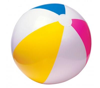 59020. Мяч надувной (четырехцветный) 51 см. Intex