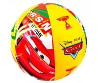 58053-u. Мяч надувной Тачки (Disney Cars) 61 см, уценка. Intex