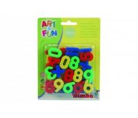 459 1457. Цифры на магнитах 37 шт. Art&Fun. Simba