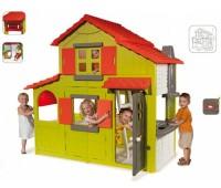 320021. Домик двухэтажный с кухней и звонком. Smoby