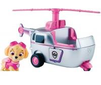"""SM16601-3. «Щенячий патруль»: спасательный автомобиль с фигуркой """"Скай"""". Paw Patrol"""