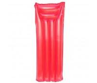 59703-1. Матрас надувной пляжный с подголовником (красный). Intex