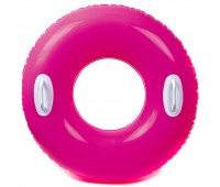 59258-1. Надувной круг c ручками (76 см) красный. Intex