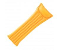 59703-2. Матрас надувной пляжный с подголовником (желтый). Intex