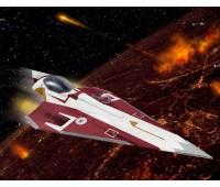 63614 Model Set Истребитель Obi-Wan`s Jedi Starfighter, 1:80, Revell