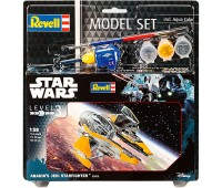 63606 Model Set Космический корабль Anakin`s Jedi Starfighter; 1:58, Revell