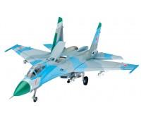 63948 Model Set Истребитель Suchoi Su-27 Flanker, 1:144, Revell