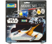 63611 Model Set Космический корабль Naboo Starfighter, 1:109, Revell