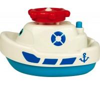 58049-1 Кораблик-фонтан, игрушка для купания (белый), BeBeLino