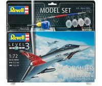 63952 Model Set Истребитель Eurofighter Typhoon, 1:72, Revell