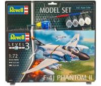 63941 Model Set Самолет F-4J Phantom II, 1:72, Revell