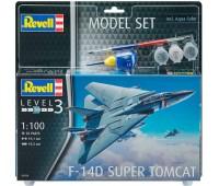 63950 Model Set Истребитель F-14D Super Tomcat, 1:100, Revell