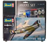 63959 Model Set Самолет Spitfire Mk.II, 1:48, Revell
