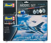 63905 Model Set Истребитель F-16 MLu, 1:72, Revell