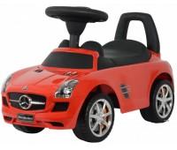 U-041R. 2003117 Толокар Mercedes SLS AMG лицензия, красный. Ocie