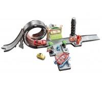 CDW65-1. Игровой набор Радиатор Спрингс из м/ф Тачки, Mattel, петля Луиджи. Hot Wheels