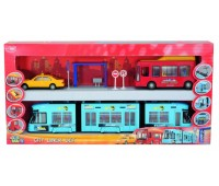 """3314283. Игровой набор """"Городской транспорт"""". Dickie"""