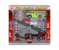 """Dickie. Игровой набор """"Пожарная служба"""" с фигуркой человека и аксессуарами. 3315396"""
