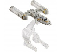 """CGW52-4. Звездолет с фильма """" Звездные Войны """" в ас. (15), Y-Wing Fighter. Hot Wheels"""